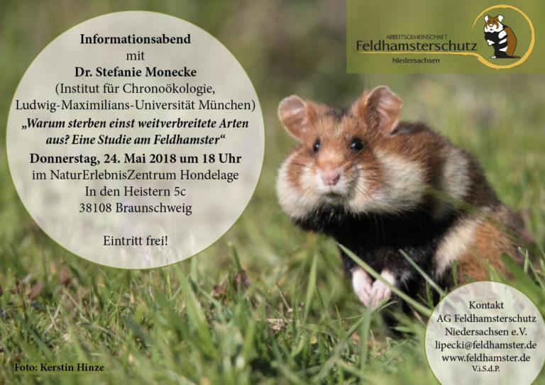 Veranstaltungsankündigung AG Feldhamsterschutz