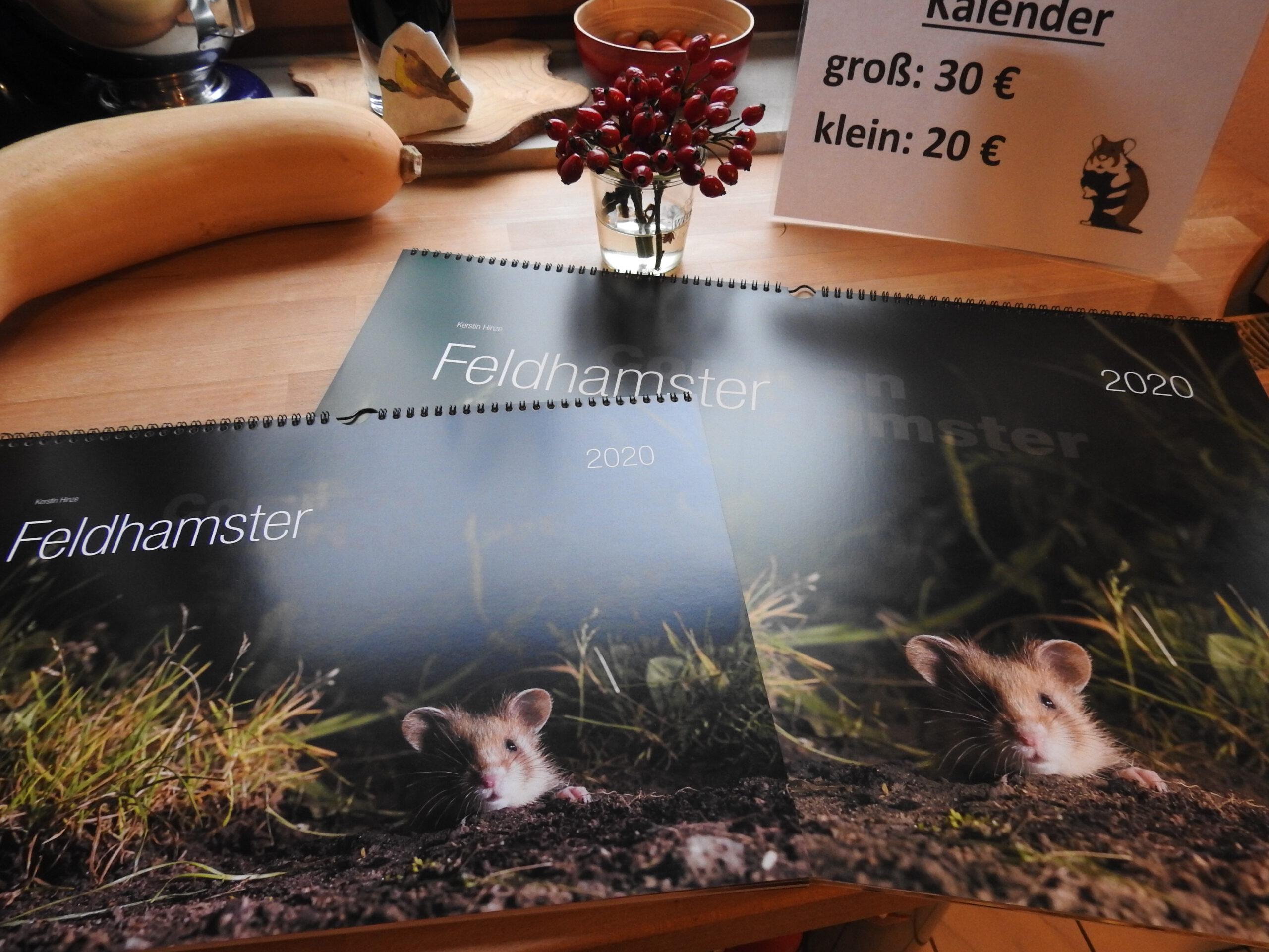 Feldhamster-Kalender 2020